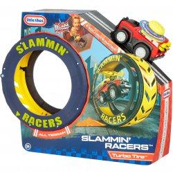 Little Tikes Zestaw Kaskaderski Slammin' Racers + Autko