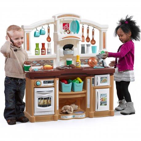 Step2 Duża Kuchnia Kącik Kuchenny Dla Dzieci z Dźwiękami