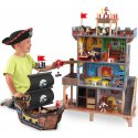 Drewniana Forteca Statek Piratów Dla Dzieci Kidkraft