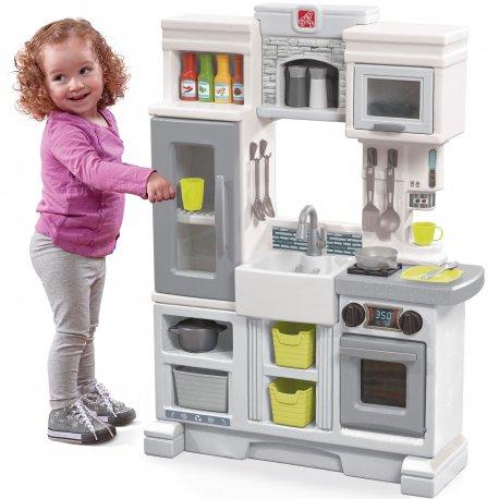 Kuchnia dla dziecka Elektroniczna z akcesoriami Miejska Step2