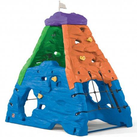 Plac Zabaw Góra Wspinaczkowa Kolorowa Dla Dzieci Skałka Step2