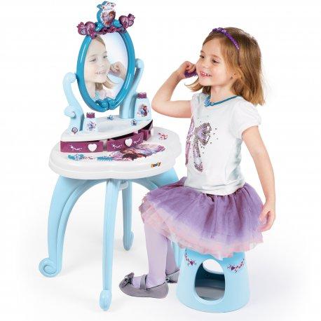Toaletka Dla Dzieci Kraina Lodu Frozen 2w1 Lustro Smoby