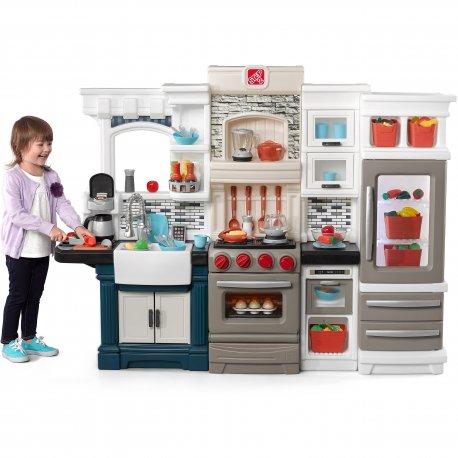 Duża Kuchnia dla dzieci z akcesoriami Grand Luxe Step2