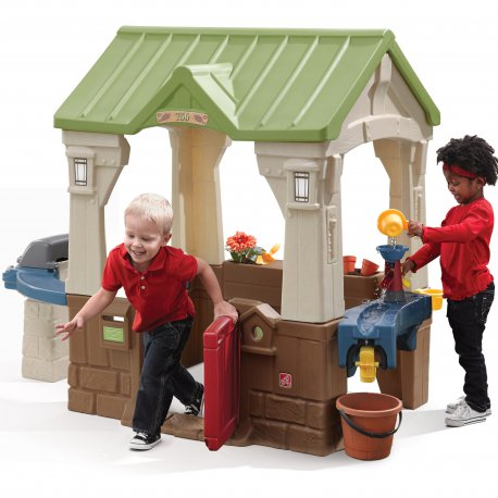 Domek Ogrodowy Tematyczny z grillem Step2