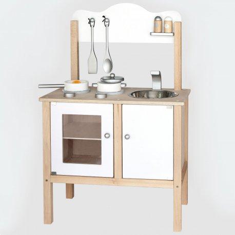 Viga Drewniana Klasyczna kuchnia z akcesoriami