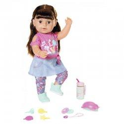 BABY born - Lalka interaktywna Siostrzyczka brunetka 43 cm Model 2019