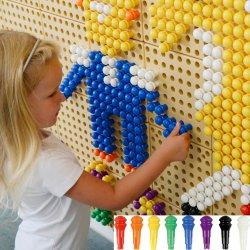 Kolorowe Kołeczki Do Tablicy Naukowej Masterkidz 512 Sztuk 8 Kolorów