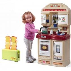 Step2 Kuchnia Dla Dzieci Studio 21 Akc. z Czajnikiem + Toster Smoby Gratis!
