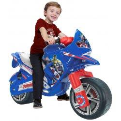 Duży motor biegowy jeździk dla dzieci Avengers Marvel Injusa