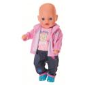 Bluza i spodenki dla lalki Baby Born 43 cm