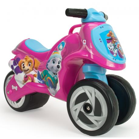INJUSA Jeździk Pchacz Psi Patrol Motocykl Różowy