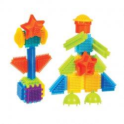 Mochtoys Klocki Jeżyki Pin Bricks 75 el. w pudełku
