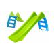 Zjeżdżalnia Ogrodowa ze Ślizgiem Wodnym 116 cm Zielona + Domek Do Kolorowania Rycerz Mochtoys