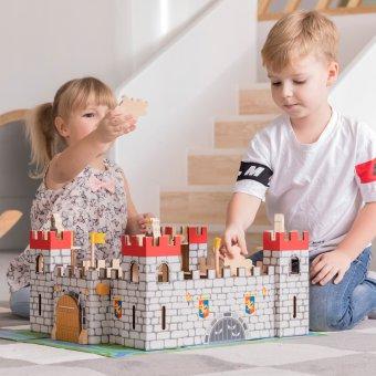 Zamek Drewniany Rycerz Król Viga
