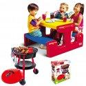 Stolik Piknikowy Little Tikes + Grill ogrodowy dla dzieci z 25 Akc.