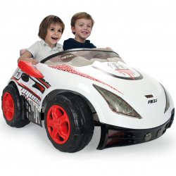 Injusa Elektryczny Samochód Biplaza dwumiejscowy dla dzieci 12V