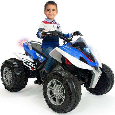Injusa Quad Rage 12V niebieski dla dzieci