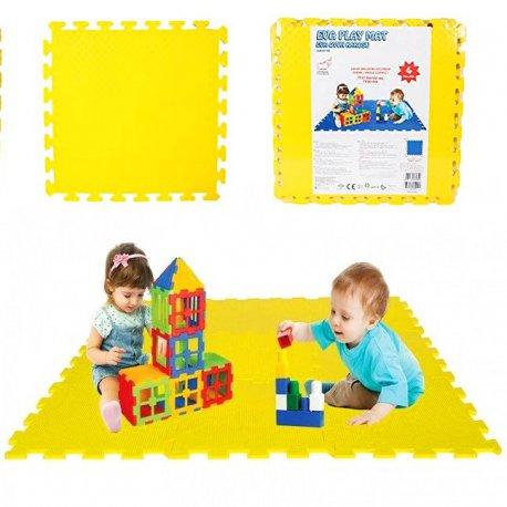 WOOPIE Piankowa Mata Edukacyjna Żółta