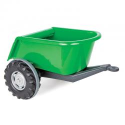 WOOPIE Przyczepka Wywrotka SUPER TRAILER Zielona 35 kg