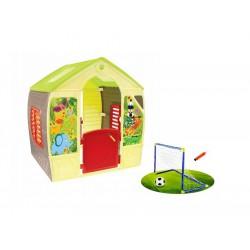 MOCHTOYS Domek Happy House + Bramka