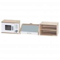 Drewniany Zestaw Kuchenny 3w1 dla dzieci Viga Toys
