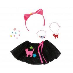 Baby Born Spódniczka Tiulowa Czarna dla lalki 43cm