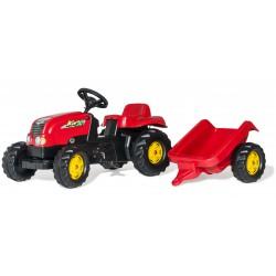 Traktor na pedały z przyczepą - Rolly Toys rollyKid 2-5 Lat