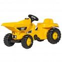 Rolly Toys Caterpillar rollyKid Traktor na pedały Dumper Cat