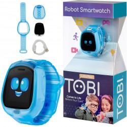 LITTLE TIKES Zegarek Robot Tobi SmartWatch Gry Video Aparat Fitness Niebieski