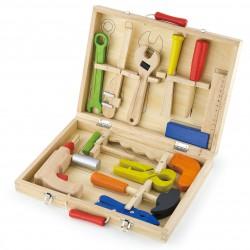 Walizka z narzędziami mały majsterkowicz Viga Toys skrzynka