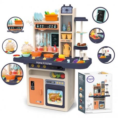 WOOPIE Duża Interaktywna Kuchnia z Obwodem Wody Dla Dzieci + Akcesoria (65el.)