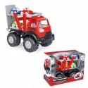 WOOPIE Zestaw Laweta Ciężarówka POWER + 4 Mini Samochodziki