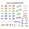MASTERKIDZ Zestaw Konstrukcyjny Tor dla Piłek Tablica STEM 440elementów