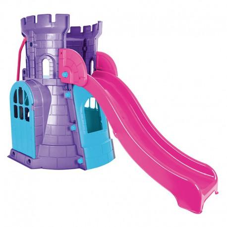 WOOPIE Zamek Wieża ze Zjeżdżalnią Domek Plac Zabaw dla Dzieci