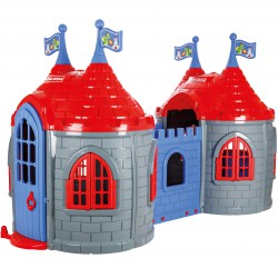 Zamek Smoka Dwie Wieże Plac Zabaw dla Dzieci