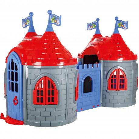 WOOPIE Zamek Księżniczki Dwie Wieże Plac Zabaw dla Dzieci