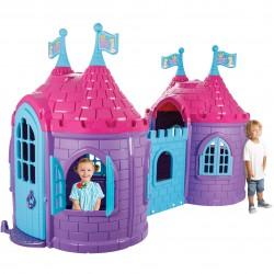 Zamek Księżniczki Dwie Wieże Plac Zabaw dla Dzieci