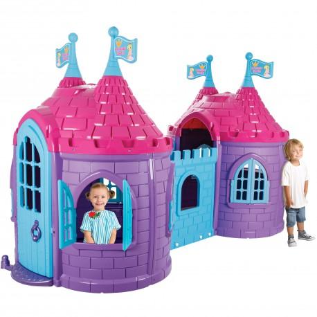 WOOPIE Zamek Księżniczki Króla Dwie Wieże Plac Zabaw dla Dzieci