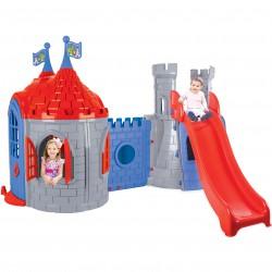 Plac Zabaw Pałac Domek Zjeżdżalnia dla Dzieci