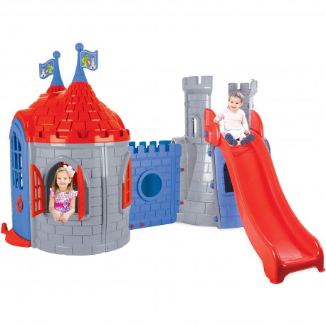 WOOPIE Plac Zabaw Pałac Domek Zjeżdżalnia