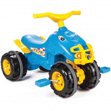 WOOPIE Rowerek Trójkołowy Jeździk Niebieski