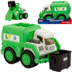 Little Tikes Śmieciarka Dirt Digger Real Working Truck Grbg