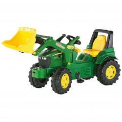 Rolly Toys rollyFarmtrac Traktor na Pedały Łyżka - John Deere  3-8 Lat
