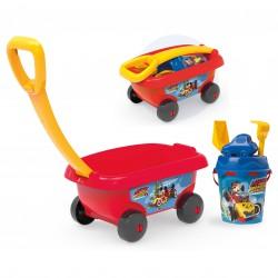 Smoby Wózek z wiaderkiem i akcesoriami do piasku Myszka Miki