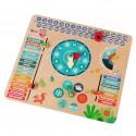 CLASSIC WORLD Edukacyjny Kalendarz dla Dzieci Pory Roku Godzina