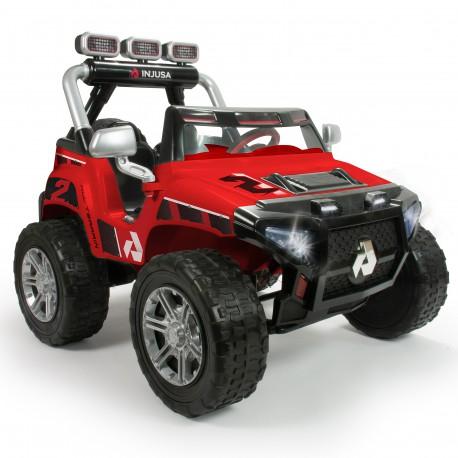 INJUSA Samochód Na Akumulator 24V Monster Dwuosobowy LED