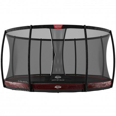 BERG Elite InGround 380 Red+Safety Net Deluxe