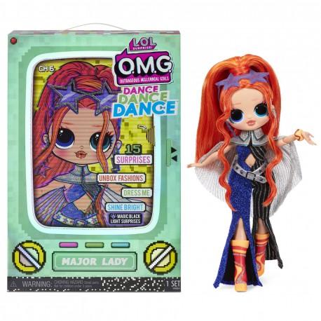 LOL Surprise OMG Dance Doll Lalka Major Lady