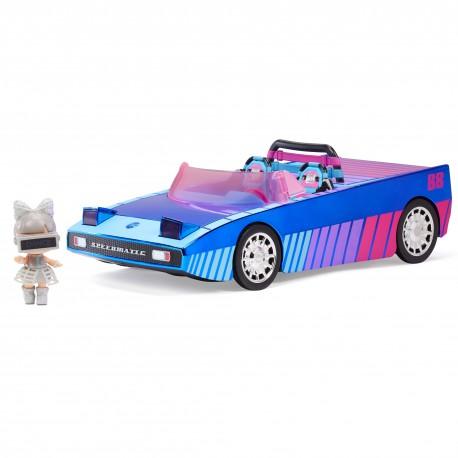 LOL SURPRISE - Samochód Dance Machine 3w1 i ekskluzywna lalka LOL