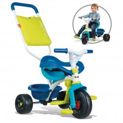SMOBY Rowerek Trókołowy Be Fun Komfort Niebieski